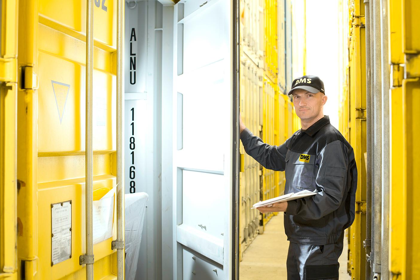 Lagerlösungen für Möbellager und Containerlager